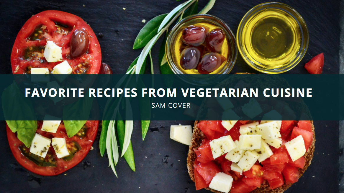 Sam Cover Spokane Washington Prepares Favorite Recipes From Vegetarian Cuisine